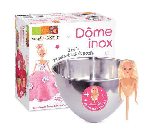 ScrapCooking Princess Dome-Shaped Mould Kit