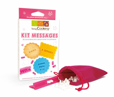 ScrapCooking Messages Kit