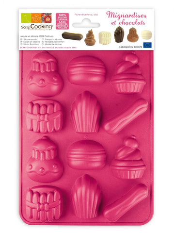 ScrapCooking Silicone Mould - Chocolates