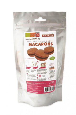 ScrapCooking Macaroons Mix - Brown