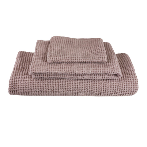 Numero 74 3 Towel Set - Dusty Pink