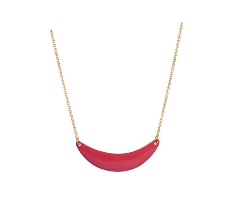 Titlee Little Sunset Necklace - Cherry