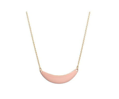 Titlee Little Sunset Necklace - Peach