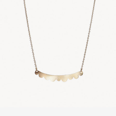 Titlee Mulberry Necklace - Gold