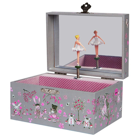 Trousselier Alice Ballerina Figurine Music Box