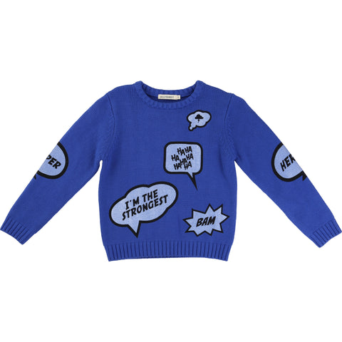 billybandit-blue-sweater-with-comic-speech-bubbles-clothing-kid-boy-bill-w5v25059872-4y-01