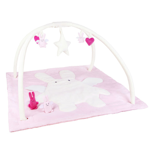 trousselier-square-playmat-music-angel-bunny-pink-01