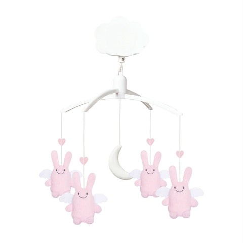 trousselier-musical-mobile-angel-bunny-pink-01