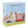 Churchill Little Rhymes Wheels On The Bus 2 Piece Silicone Footed Set
