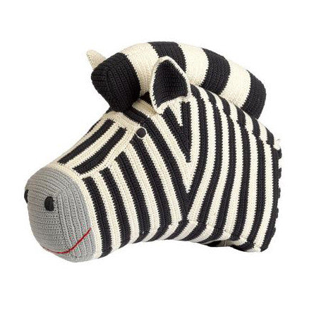 Anne-Claire Petit Zebra Head Charcoal