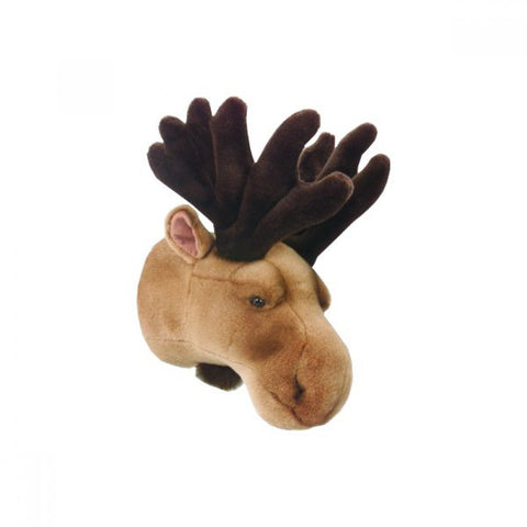 BiBiB & Co Plush Trophy - Moose