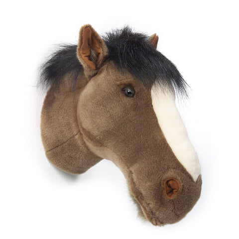 BiBiB & Co Plush Trophy - Dark Brown Horse