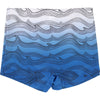 Billybandit Blue Printed Swimming Trunks