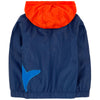 Billybandit Orange and Navy Fancy Windbreaker