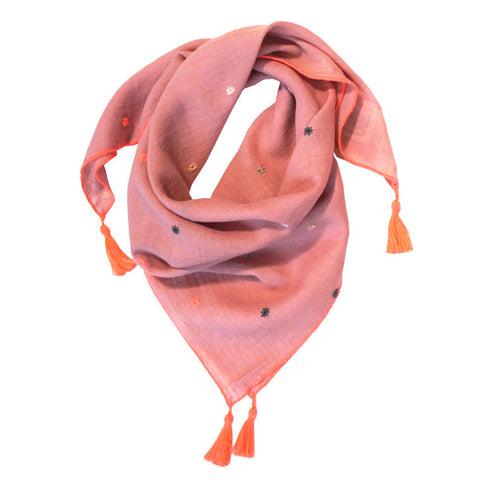bonheur-du-jour-paris-pompon-scarfs-embroidered-with-pink-stars-scarf-girl-accessory-kid-bdj-s6scarfpom-stars-01