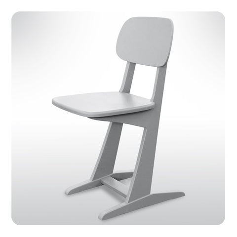 Laurette Chaise à Patins Chair Grey