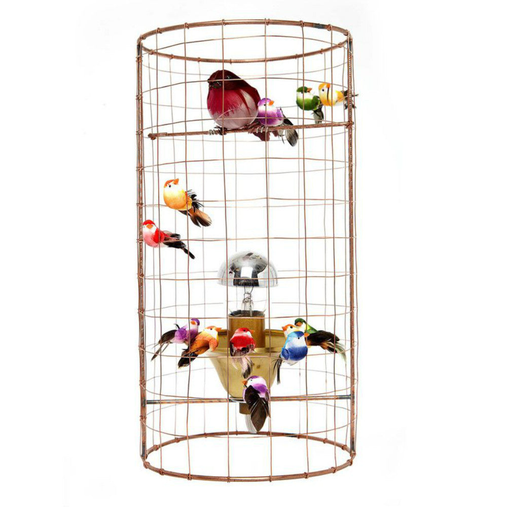 Challieres Mini Voliere Bird Cage Table Lamp Petit Bazaar