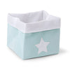 childhome-box-canvas-foldable-32x32x29-mint-white-01