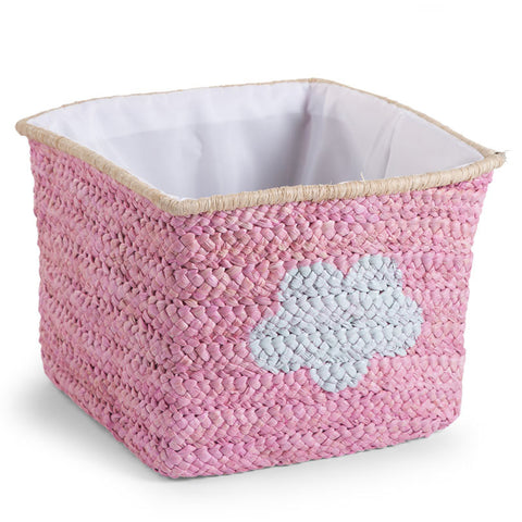 childhome-box-straw-woven-basket-30x33x33-pink- (1)