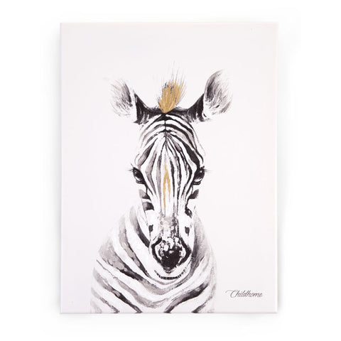 childhome-oil-painting-zebra-head-gold-01