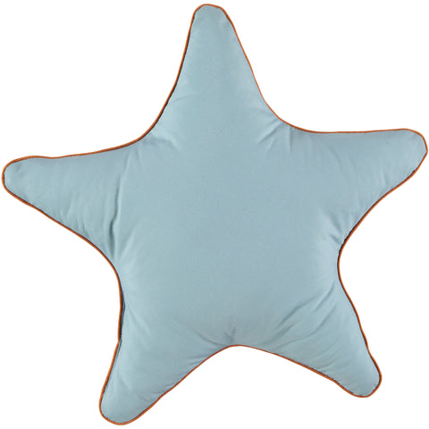 Nobodinoz Star Cushion Thalassa Blue Large