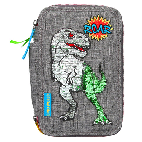 depesche-dino-world-filled-triple-pencil-case-sequins- (2)