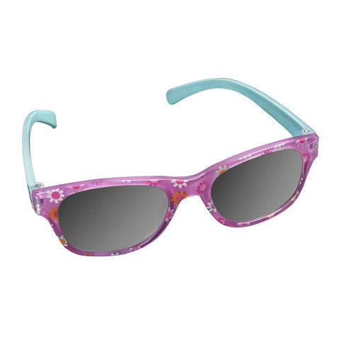 Pink and Blue Flowers Baby Sunglasses