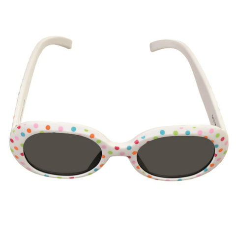 White and Dots Baby Sunglasses