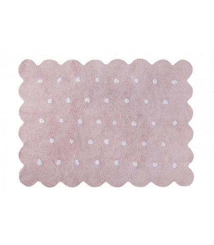 Lorena Canals Galleta Pink Washable Rug
