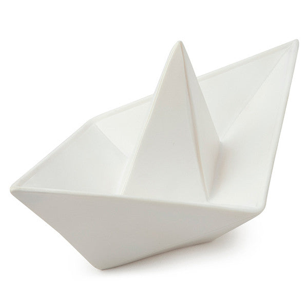goodnight light white paper boat lamp petit bazaar. Black Bedroom Furniture Sets. Home Design Ideas
