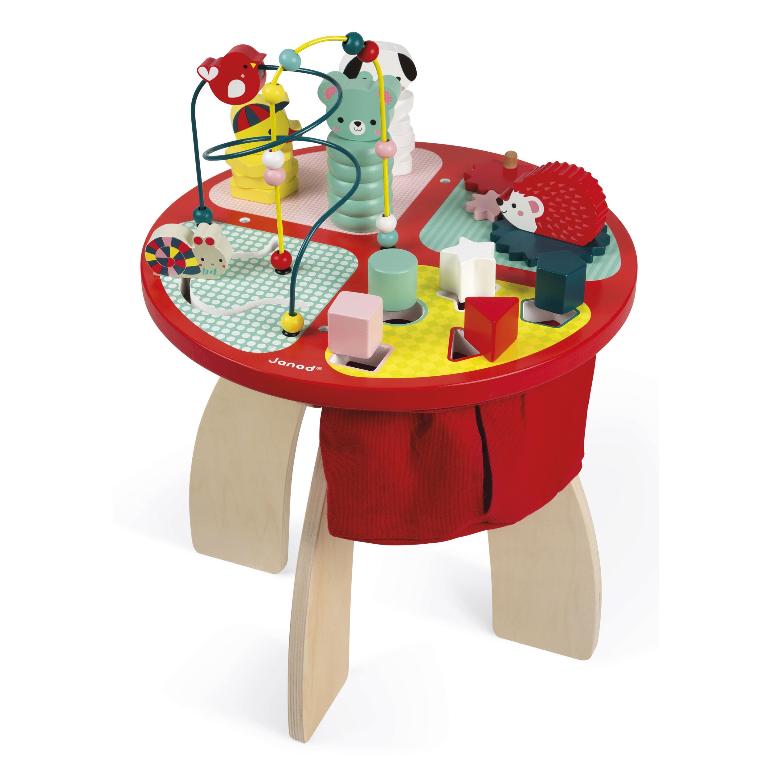 Janod Activity Table Baby Forest Petit Bazaar