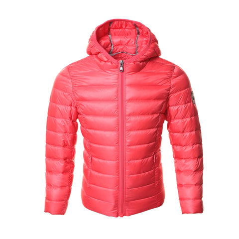 JOTT Carla Water-Repellent Down Jacket Long Sleeve Hood Corail
