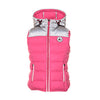 JOTT Rocket Reflective Water-Repellent Down Jacket Sleeveless Hood Rose Fluo