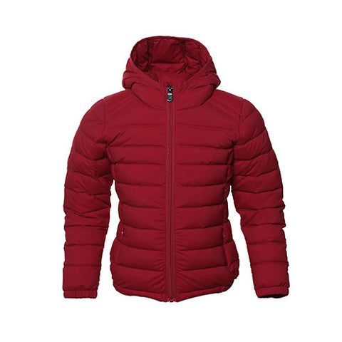 JOTT Nolan Water-Repellent Down Jacket With Hood Red