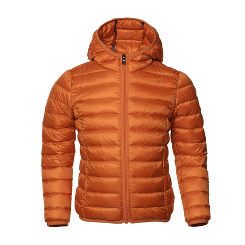 JOTT Hugo Water-Repellent Down Jacket Sleeve Hood Orange