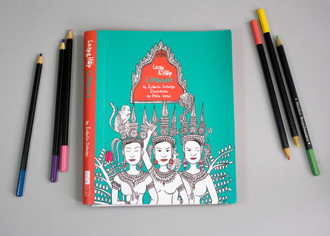 Leap & Hop - Cambodia - Travel Activity Book