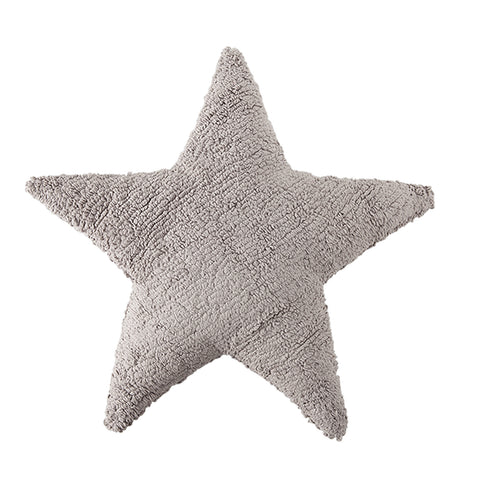 Lorena Canals Star Light Grey Washable Cushion