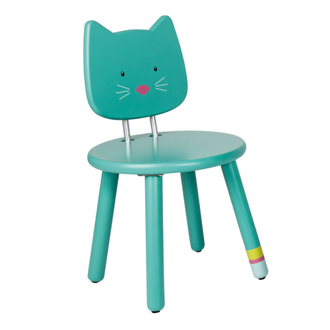 Moulin Roty Les Pachats Green Child Chair