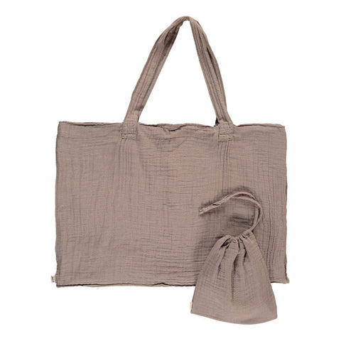 Numero 74 Beige Purse and Bag