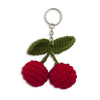 Numero 74 Fruit Crochet Keychain Mix Color