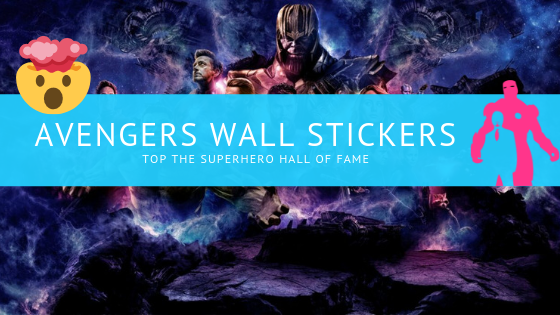 Avengers Wall Stickers Top The Superhero Wall of Fame