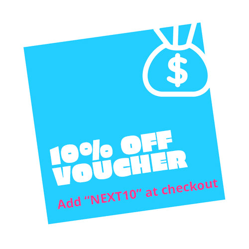 Get 10% off your next order