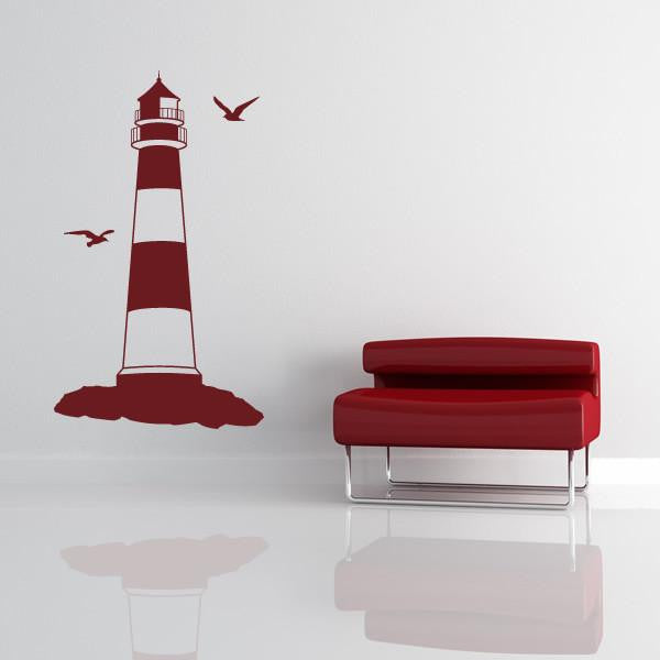 Lighthouse Wall Art Sticker - Apex Stickers