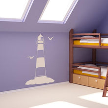 Load image into Gallery viewer, Lighthouse Wall Art Sticker - Apex Stickers