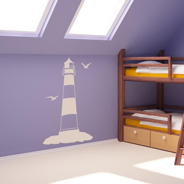Lighthouse Wall Art Sticker (AS10014) - Apex Stickers