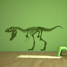 Load image into Gallery viewer, T-Rex Dinosaur Skeleton Wall Sticker - Apex Stickers