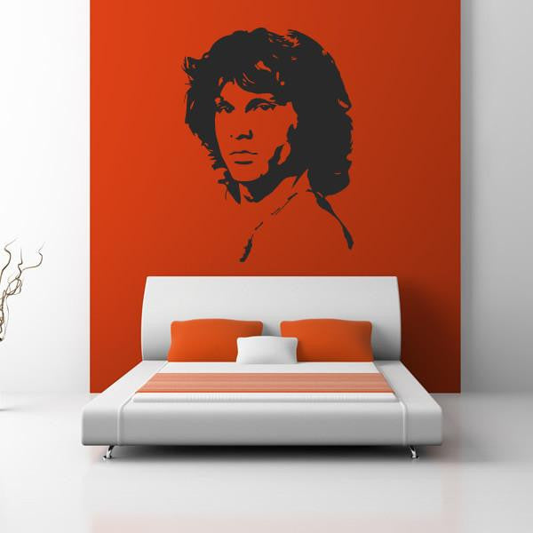 Jim Morrison The Doors Wall Art Sticker (AS10039) - Apex Stickers