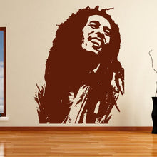 Load image into Gallery viewer, Bob Marley Wall Art Sticker - Apex Stickers
