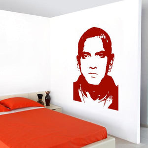 Eminem Marshall Mathers Wall Art Sticker (AS10043) - Apex Stickers