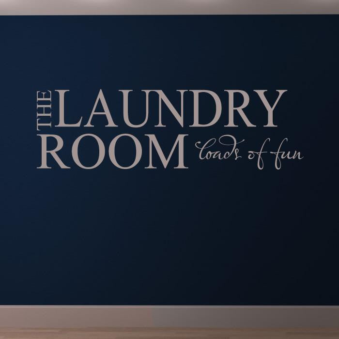 The Laundry Room  Wall Art Sticker - Apex Stickers